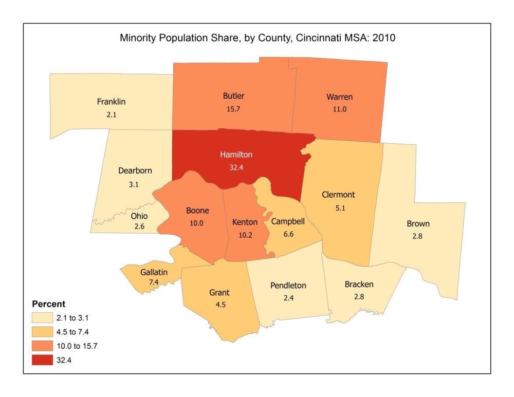 A First Look At 2010 Census Results For The Cincinnati Msa The Community Research Collaborative Blog